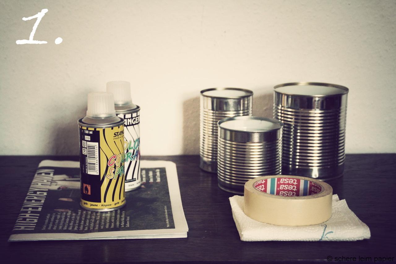 buntes dosen recycling schereleimpapier diy blog f r wohnen geschenke und mehr. Black Bedroom Furniture Sets. Home Design Ideas