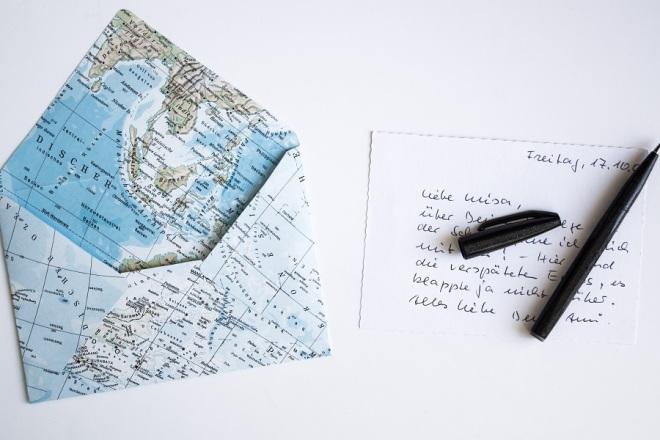 Brief Falten Word 2016 : Wie du aus einer atlas seite einen briefumschlag falten